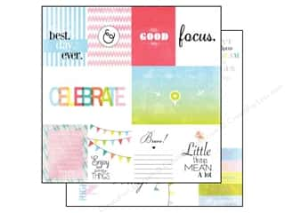 Glitz Design 12 x 12 in. Paper Brightside Bits & Pieces