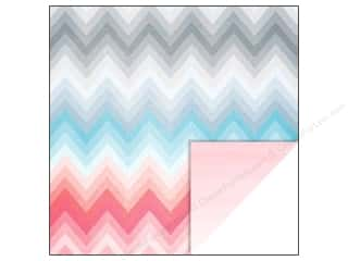 Glitz Design 12 x 12 in. Paper Felicity Chevron