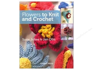 crochet books: Search Press Flowers to Knit and Crochet Book