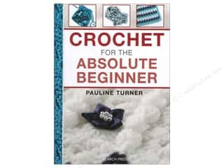 yarn  books: Search Press Crochet For The Absolute Beginner Book