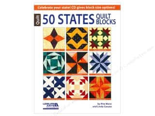 Computer Software / CD / DVD: Leisure Arts 50 States Quilt Blocks Book
