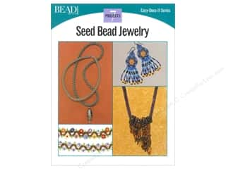 beading & jewelry making supplies: Kalmbach Easy Does It Seed Bead Jewelry Book