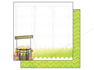 Bo Bunny 12 x 12 in. Paper Lemonade Stand Collection Lemonade Stand (25 sheets)