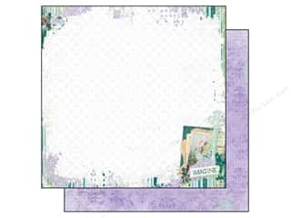 Clearance Bo Bunny Paper Collection Packs: Bo Bunny Paper 12x12 Enchanted Garden Imagine (25 sheets)