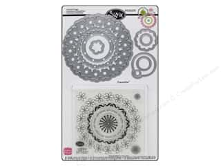 Sizzix Framelits Die Set 8PK with Stamps Circles & Tags by Stephanie Barnard
