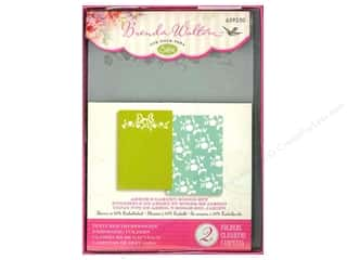 Sizzix Textured Impressions Embossing Folders 2 pc. Arbor & Garden Roses Set