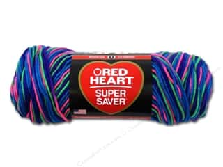 Red Heart Super Saver Yarn 236 yd. #3947 Bright Mix