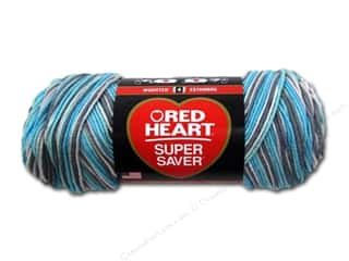yarn & needlework: Red Heart Super Saver Yarn #3952 Icelandic 236 yd.