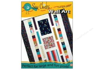 Sewing & Quilting: Cozy Quilt Designs Sew Chicks Wall Art Pattern