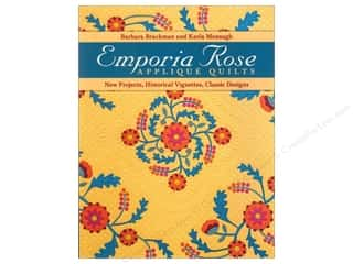books & patterns: C&T Publishing Emporia Rose Applique Quilts Book by Barbara Brackman & Karla Menaugh
