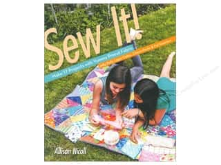 books & patterns: FunStitch Studio By C&T Sew It! Book
