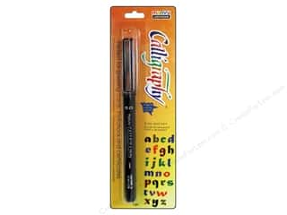 invited stamp: Uchida Calligraphy Pen Marker 5.0mm Black