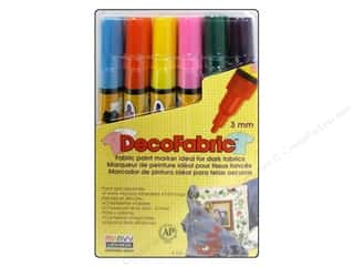 Uchida DecoFabric Paint Marker Set Complementary 6 pc.