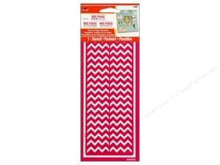 Plaid Mod Podge Tools Stencil Peel & Stick Chevron