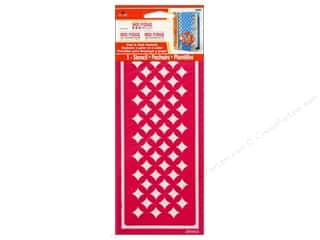 Plaid Mod Podge Tools Stencil Peel & Stick Starlite