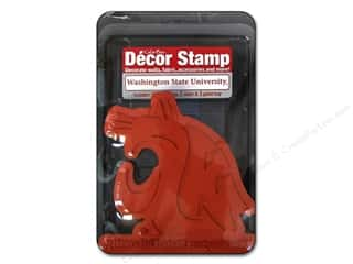 NCAA: ColorBox Stamp Decor Washington State University