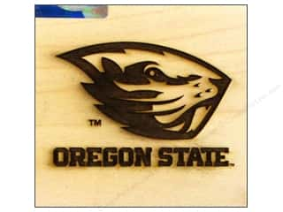NCAA: ColorBox Stamp Rubber Wood Mount Oregon State University