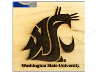 ColorBox Stamp Rubber Wood Mount Washington State University