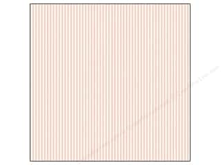 Canvas Corp 12 x 12 in. Paper Pink & Ivory Ribbon Stripe
