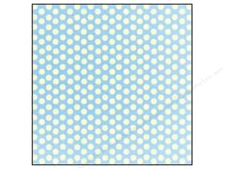 Canvas Corp 12 x 12 in. Paper Blue & Ivory Dot Reverse