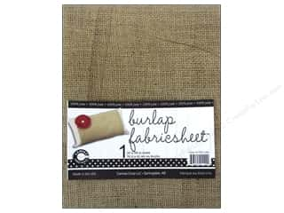 jute: Canvas Corp Burlap Fabric Sheet 30 x 36 in.