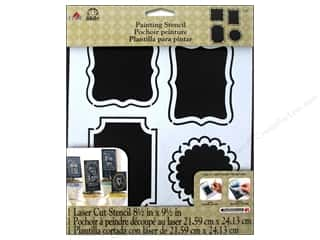 Plaid Stencil 8 1/2 x 9 1/2 in. Fab Frames