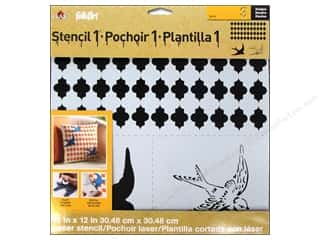 Plaid Stencil Designer Swallow Set