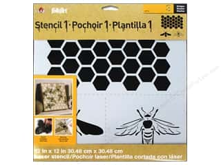 Bees: Plaid Stencil Designer Honey Bee
