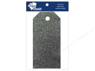 gifts & giftwrap: Craft Tags by Paper Accents 1 5/8 x 3 1/4 in. 10 pc. Glitz Midnight