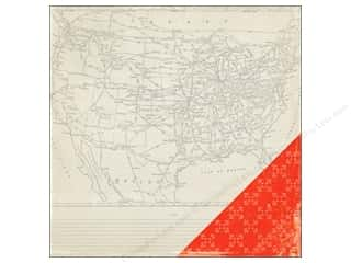 Crate Paper 12 x 12 in. Paper Open Road Scenic Route