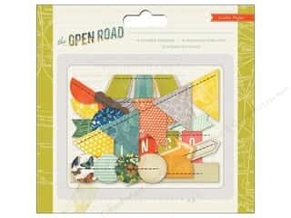 Weekly Specials Crate Paper: Crate Paper Embellishments Open Road Stitched Borders
