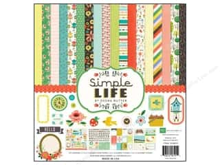 Weekly Specials Echo Park Collection Kit: Echo Park 12 x 12 in. Collection Kit Simple Life