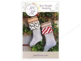 Better Homes : Kenzie Mac & Co Sew Simple Stocking Pattern
