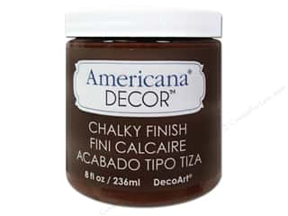 craft & hobbies: DecoArt Americana Decor Chalky Finish Paint - Rustic 8 oz.