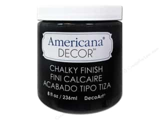DecoArt Americana Decor Chalky Finish Paint - Carbon 8 oz.