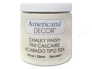 craft & hobbies: DecoArt Americana Decor Chalky Finish Paint - Lace 8 oz.