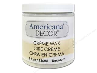 craft & hobbies: DecoArt Americana Decor Creme Wax 8 oz. Clear