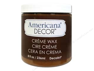 DecoArt Americana Decor Creme Wax 8 oz. Golden Brown