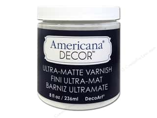 craft & hobbies: DecoArt Americana Decor Varnish 8 oz. Ultra-Matte