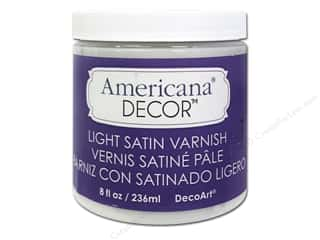 craft & hobbies: DecoArt Americana Decor Varnish 8 oz. Light Satin