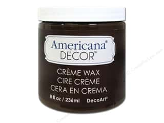 craft & hobbies: DecoArt Americana Decor Creme Wax 8 oz. Deep Brown