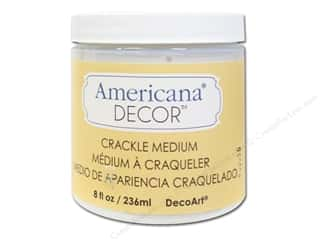 Crackle Medium: DecoArt Americana Decor Crackle Medium 8 oz.