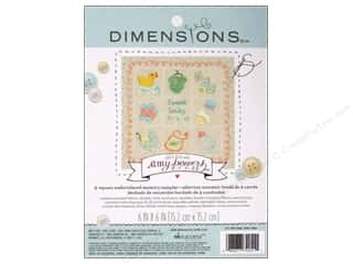 "Weekly Specials Singer Thread: Dimensions Embroidery Kit 6""x 6"" Memory Sampler Amy Powers Baby"