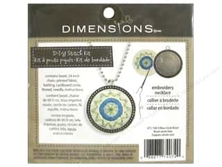 Weekly Specials Pattern: Dimensions Cross Stitch Kit Blue Circle Bezel Silver