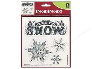 Inkadinkado Wall Decal Let It Snow