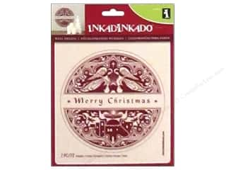 craft & hobbies: Inkadinkado Wall Decal Merry Christmas