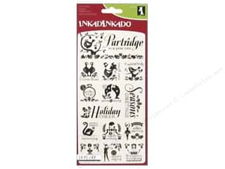 Inkadinkado Clear Stamp 12 Days Of Christmas