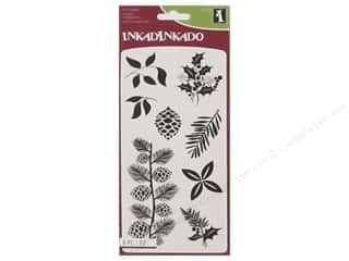 Inkadinkado Clear Stamp Holiday Decor