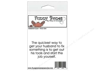 stamps: Riley & Company Cling Stamps Funny Bones Get Your Husband