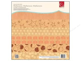 """Clearance Cosmo Cricket Element Deck: Cosmo Cricket Paper Deck 12""""x 12"""" Krafternoon"""